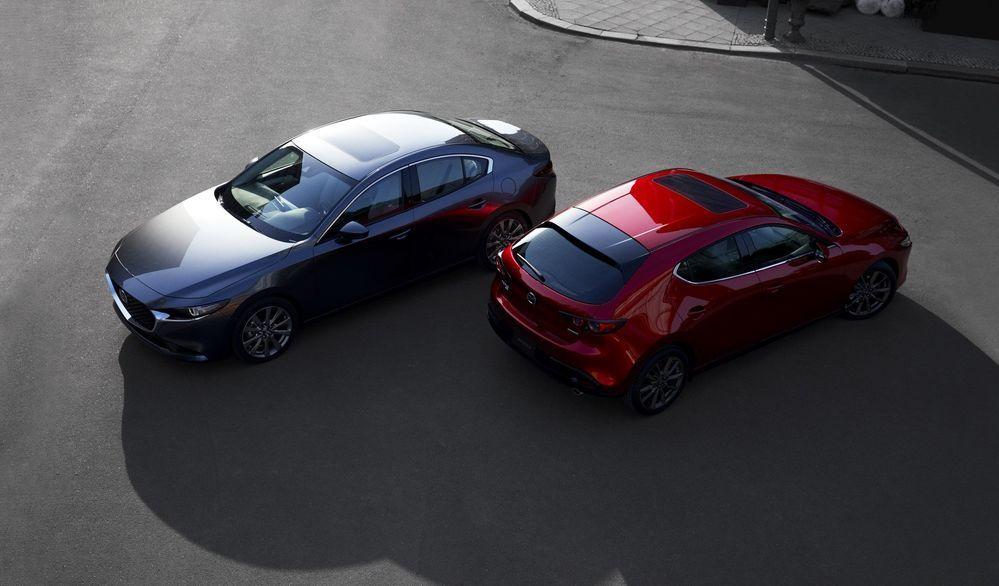 ยลโฉม 2019 Mazda 3 พร้อมแรงบันดาลใจผ่านโคโดะดีไซน์และรถต้นแบบ Vision Coupe