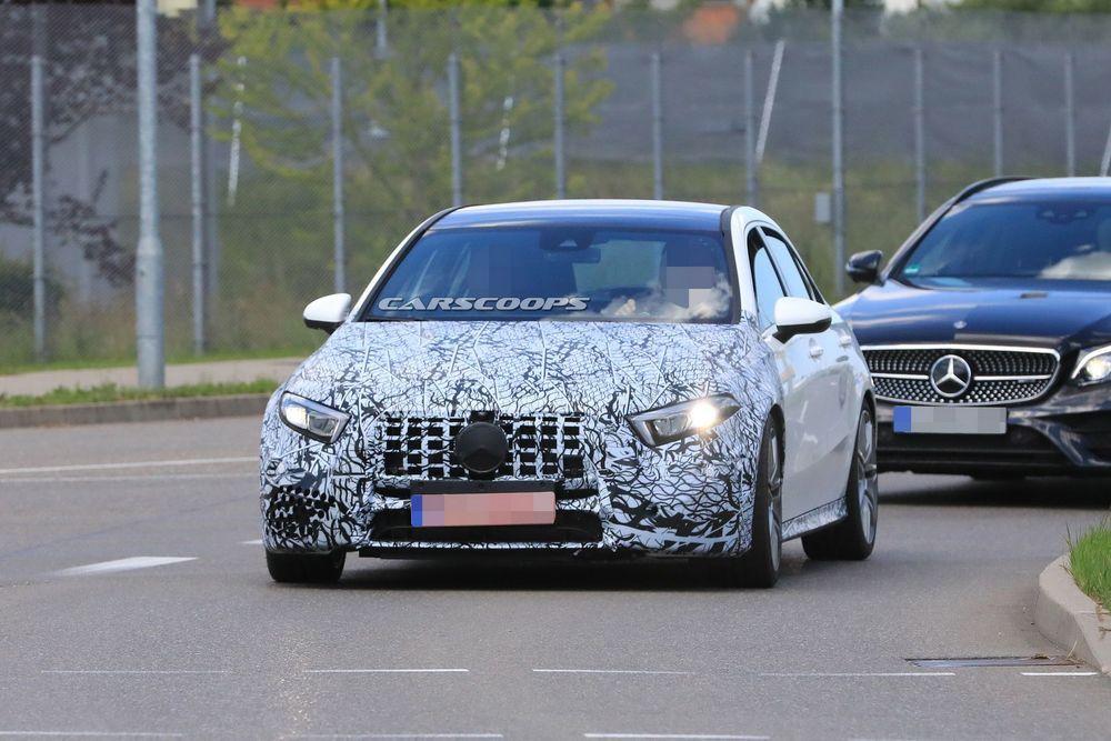 2019 Mercedes-AMG A50 อวดโฉมเพิ่ม พร้อมกระจังหน้า Panamericana Grille