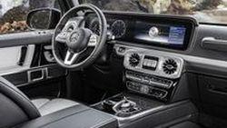 เปิดภาพห้องโดยสาร 2019 Mercedes-Benz G-Class เน้นความบึกบึนล้ำสมัย