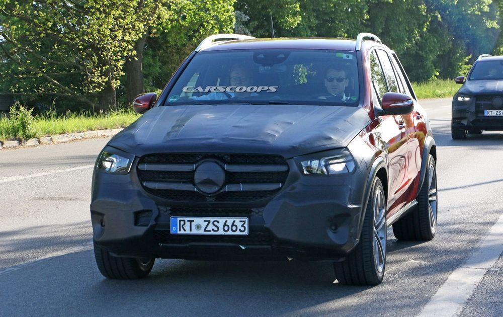 2019 Mercedes-Benz GLE พรางนิดพรางหน่อย อวดสัดส่วนภายนอก-ในเพิ่มเติม