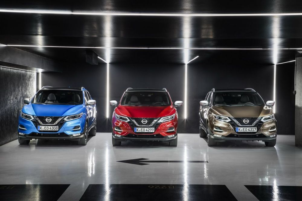 2019 Nissan Qashqai พร้อมเครื่องยนต์เทอร์โบ เกียร์ DCT และระบบอินโฟเทนเมนท์แบบใหม่