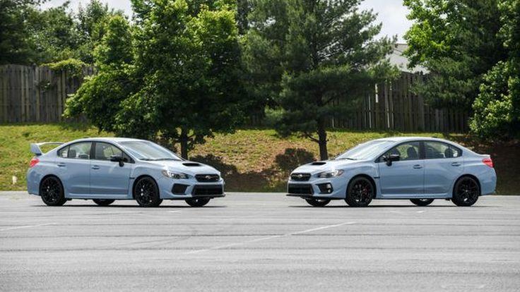 เปิดตัว สีเทาลิมิเต็ดกับ 2019 Subaru WRX และ WRX STI Series.Gray