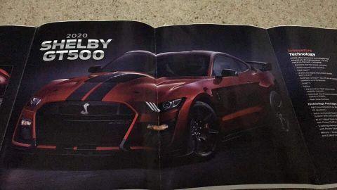 2020 Ford Mustang Shelby GT500 เปิดสเป็ค 5.2 ลิตร V8 พร้อมเกียร์ 7 สปีด DCT