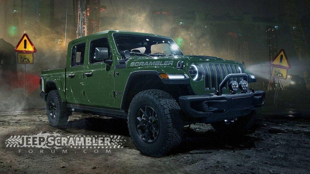 ชมภาพการออกแบบที่คาดว่ามีความเป็นไปได้สูงมากสำหรับ 2020 Jeep Scrambler ปิกอัพสายพันธุ์แกร่งที่แท้จริง