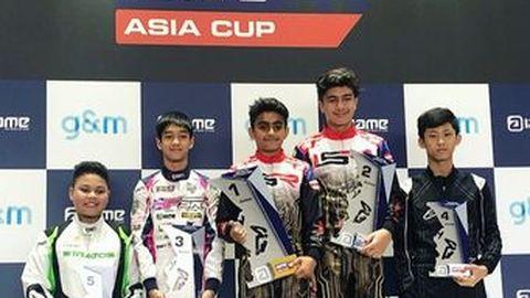 AAS Motorsport ส่ง ทัศนพล อินทรภูวศักดิ์ คว้าอันดับที่ 3 ในศึก Go-Kart รายการ IAME ASIA CUP 2019 รุ่นจูเนียร์