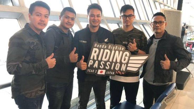 [PR News] 4 ไบค์เกอร์ผู้ชนะกิจกรรม Honda BigBike Riding Passion บินลัดฟ้าสู่แดนอาทิตย์อุทัยแล้ว