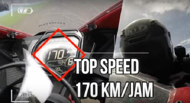 รถ 4 จังหวะ 250 ซีซีกับความเร็วสูงสุดที่ 170 กม./ชม.