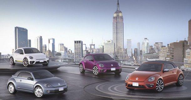 โฟล์กสวาเกน เตรียมเปิดตัวบีทเทิล เวอร์ชั่นพิเศษ 4 คันรวดในงานแสดงรถยนต์ที่นิวยอร์ค