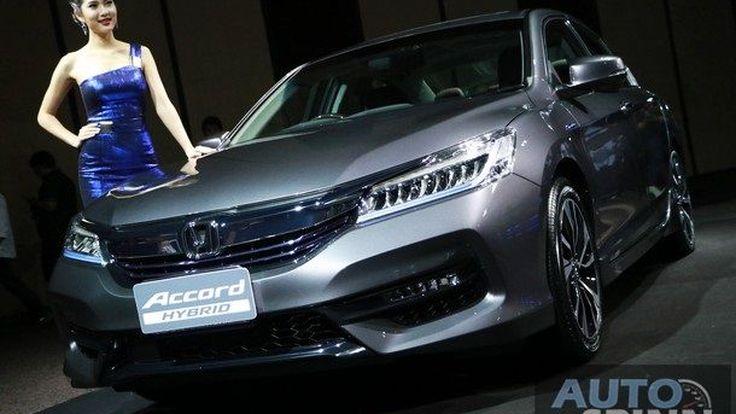 [5 เรื่องที่ควรรู้] เกี่ยวกับ New Honda Accord Hybrid ซีดานหรูหัวใจไฮบริด