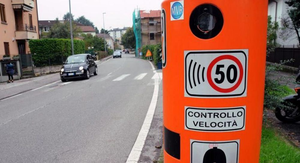 แค่สองสัปดาห์ กล้องจับความเร็วเพียงเครื่องเดียวถ่ายผู้ขับความเร็วเกินกำหนดได้เกือบ 60,000 คนที่อิตาลี