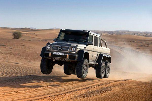"""Mercedes-Benz ยืนยันผลิตแน่ G63 AMG 6x6 รถอเนกประสงค์ """"ขับเคลื่อน 6 ล้อ"""""""