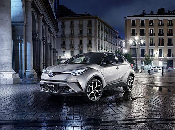 ลูกค้ากว่า 80% เลือกใช้ Toyota C-HR รุ่นไฮบริด