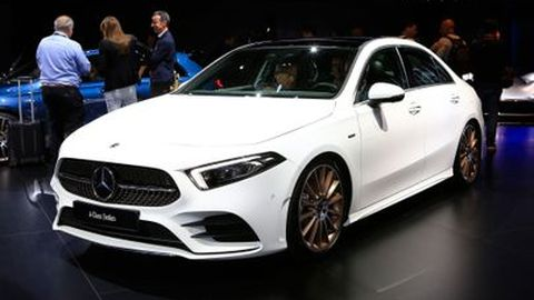 [Paris Autoshow 2018] 2019 Mercedes A-Class Sedan อัดแน่นด้วยเทคโนโลยีในขนาดกระทัดกว่าเดิม