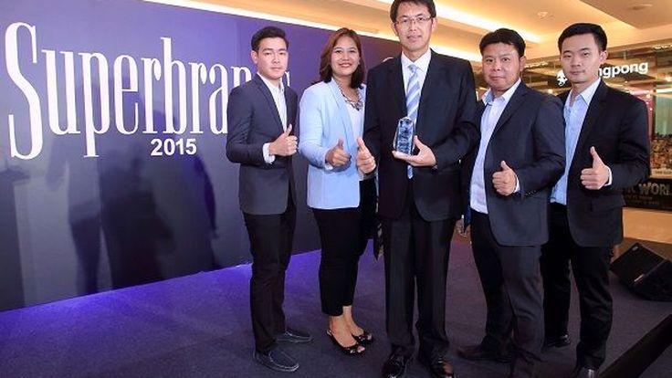 รถจักรยานยนต์ฮอนด้าคว้ารางวัลสุดยอดแบรนด์แห่งปี ซูเปอร์แบรนด์ไทยแลนด์ 2015