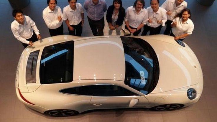 AAS ผ่านการตรวจสอบด้านการบริการจาก Porsche  เยอรมนีด้วยคะแนนสูงสุด