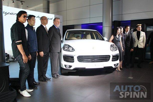 AAS เปิดตัว Porsche Cayenne S E-Hybrid   SUV  ปลั๊กอินไฮบริด คันแรกของโลก เป็นครั้งแรกในเมืองไทย