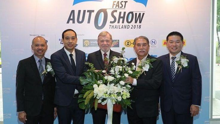 [FAST2018] ปอร์เช่ ประเทศไทย ยกทัพรถสปอร์ตหรูร่วมอวดโฉมในงาน FAST Auto Show Thailand 2018