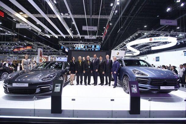 TIME2017 : ปอร์เช่ ประเทศไทย เปิดตัวซูเปอร์คาร์ 3 รุ่นรวดในงาน Motor Expo 2017