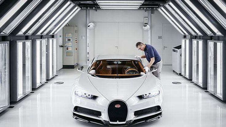 เผยเบื้องหลังการผลิต Bugatti Chiron หนึ่งคันใช้ผู้เชี่ยวชาญ 20 คน