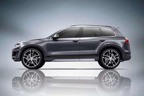 ABT Sportsline เปิดตัวชุดแต่ง Volkswagen Touareg SUV แรงได้ถึง 380 แรงม้า