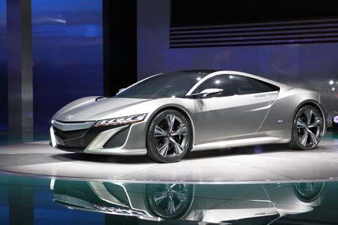 Acura/Honda NSX Concept การกลับมาของรถสปอร์ตตัวเก่ง เตรียมลงสู่ตลาดในปี 2015