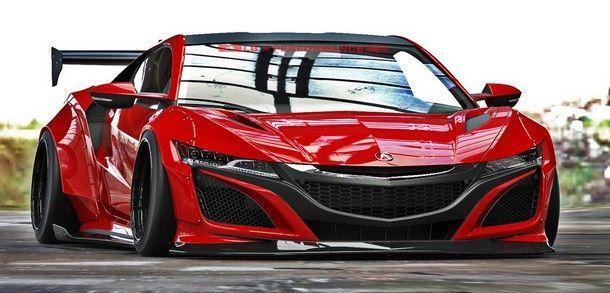 เชิญชม Acura NSX เวอร์ชั่น Liberty Walk ที่มาพร้อมชุด ไวด์บอดี้ แบบจัดเต็มสไตล์สายหล่อ