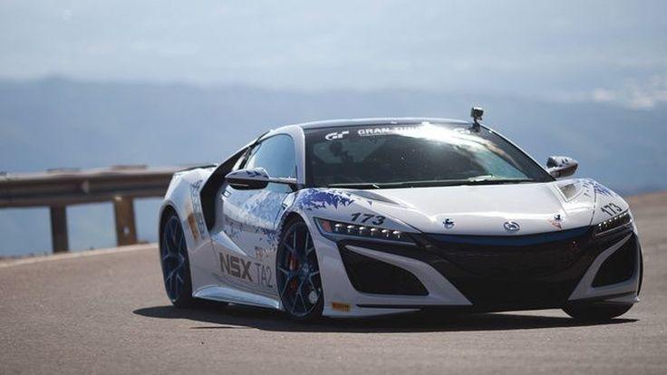 Acura NSX คว้าชัยชนะไต่เขา Pikes Peak