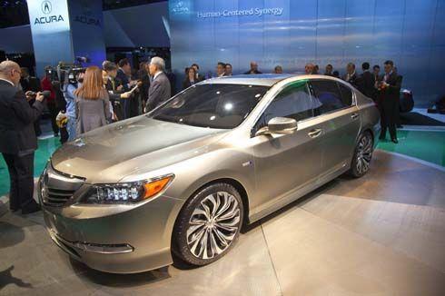 Acura เผยโฉม RLX Concept ต้นแบบซีดานหรูระบบไฮบริด ที่ New York Auto Show