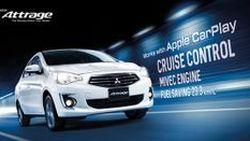 [Advertorial] Mitsubishi Attrage ใหม่ ซิตี้คาร์ ซีดาน อัดฟีเจอร์ใหม่เทียบเท่ารถซีดานระดับหรู