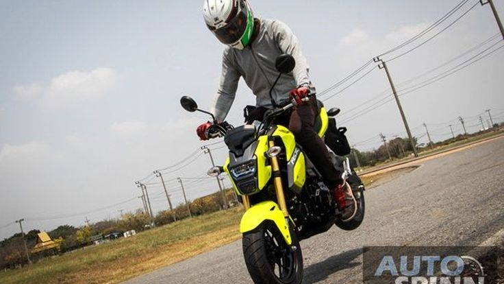 [Advertorial] Honda MXS125SF: The Endrophins Clutcher จี๊ดสุดพลัง วัยมันส์อย่างโดน