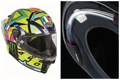AGV Pista GP R หมวกเรซซิ่งรุ่นใหม่เจ๋งกว่าเดิมเสริมช่องสำหรับดูดน้ำรุ่นแรกของโลก