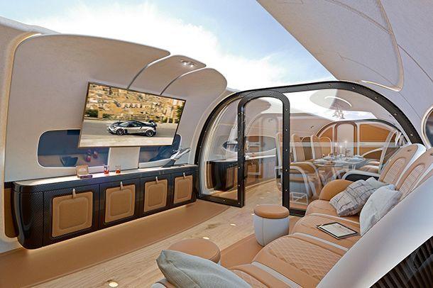 Airbus จับมือ Pagani สร้างห้องโดยสารสุดหรูสำหรับเครื่องบิน