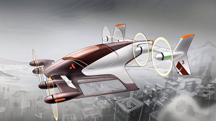 Airbus แย้มภาพแรก 'Vahana' อากาศยานขับเคลื่อนอัตโนมัติ