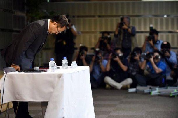 อย่างหล่อ (หรอ)!!! ประธานโตโยต้าแถลงขอโทษประชาชน หลังผู้บริหารโดนจับนำเข้ายาแก้ปวดแบบเสพติด