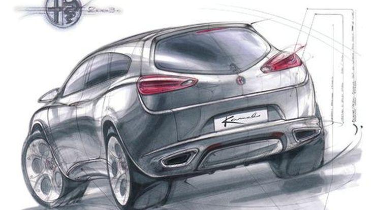 Alfa Romeo จ่อเปิดตัวครอสโอเวอร์ในปี 2016 อาจพกแรงม้าถึง 500 ตัว