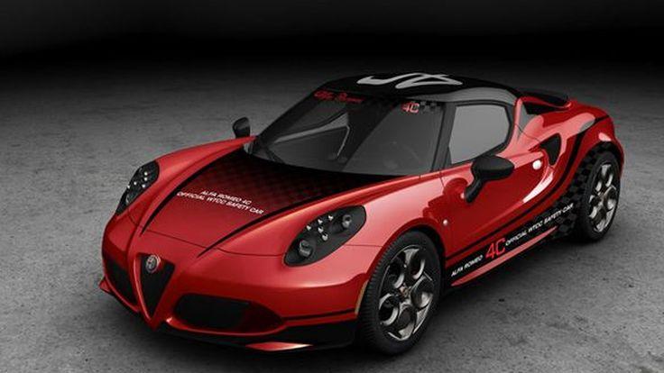 Alfa Romeo 4C ได้รับเลือกให้เป็นเซฟตี้คาร์การแข่งขัน WTCC