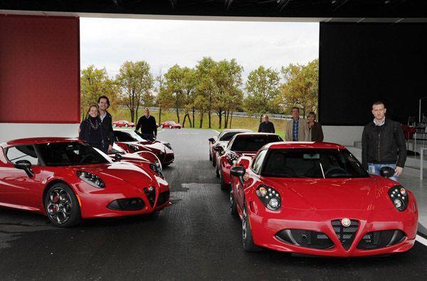 "Alfa Romeo เริ่มส่งมอบ 4C คันแรกให้ลูกค้าด้วยเวอร์ชั่น ""Launch Edition"""