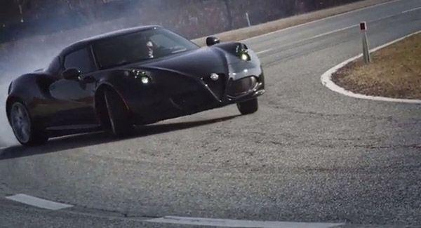 Alfa Romeo 4C Concept อวดโฉมที่ Concorso d'Elegance Villa d'Este