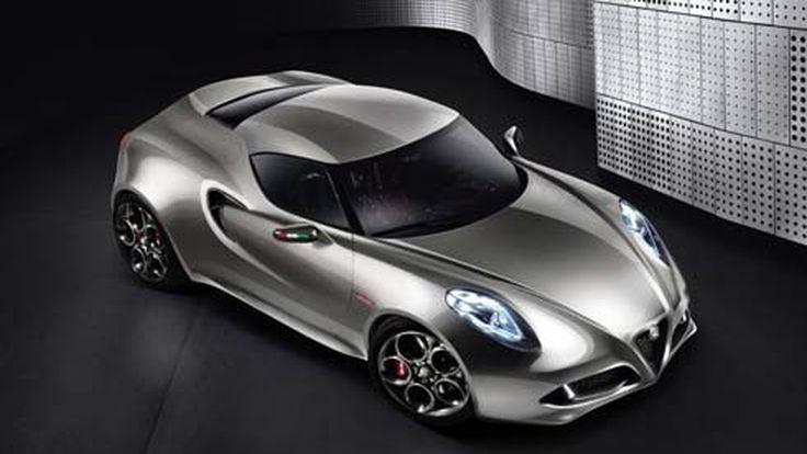 เปิดตัว Alfa Romeo 4C Concept สปอร์ตคูเป้ขับเคลื่อนล้อหลัง 2 ที่นั่ง ผลิตขายปี 2012