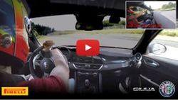 ชมวีดีโอ Alfa Romeo Giulia Quadrifoglio สร้างสถิติในสนามเนอร์เบิร์กริง