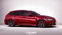 Alfa Romeo Giulia ตัวถัง Station Wagon อาจเผยโฉมให้เห็นกันในปี 2017