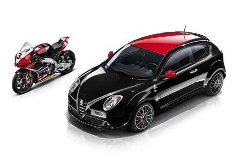 Alfa Romeo MiTo SBK รุ่นฉลองสปอนเซอร์ซูเปอร์ไบค์ จ่อโชว์ตัวที่ปารีส