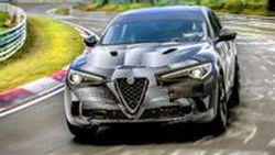 Alfa Romeo Stelvio Quadrifoglio ครองสถิติรถเอสยูวีที่เร็วที่สุดในเนอร์เบิร์กริง