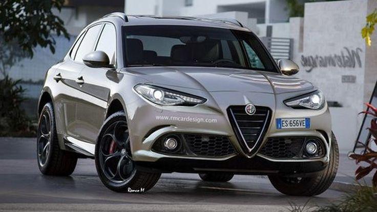 หล่อไม่เบา !! Alfa Romeo Stelvio รถ SUV รุ่นแรกจากค่าย จ่อเปิดตัวที่ Los Angeles Auto Show