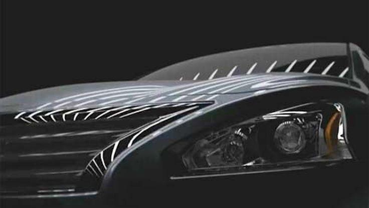 Nissan ปล่อยวิดีโอทีเซอร์ที่ 2 ของ All-New 2013 Altima ก่อนเปิดตัวที่นิวยอร์ค