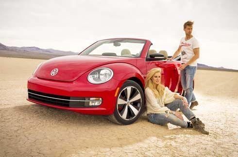 ใหม่ล่าสุด All-New 2013 Volkswagen Beetle Convertible โฟล์คเต่าเปิดประทุน