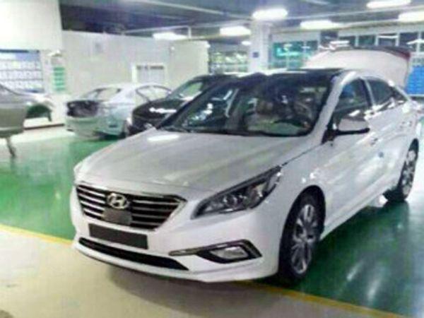 หลุดชุดใหญ่ All-New 2015 Hyundai Sonata ซีดานแดนกิมจิรุ่นใหม่ล่าสุด