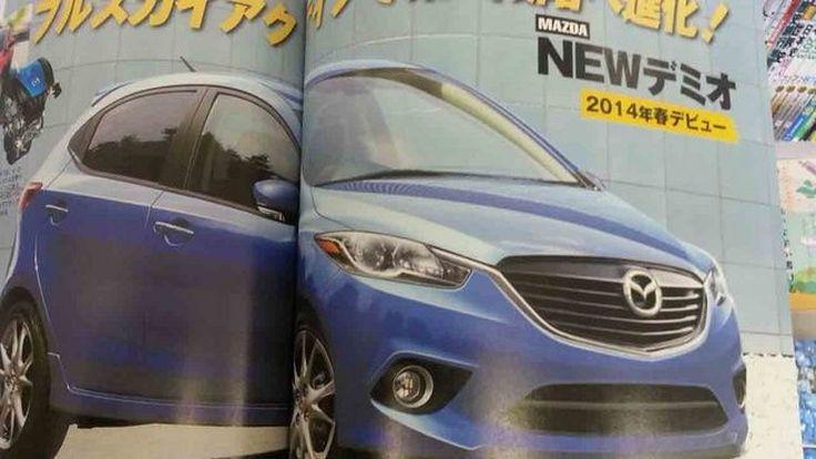 หลุด! All-New 2015 Mazda2 ซับคอมแพกต์ดีไซน์สวยเฉียบ