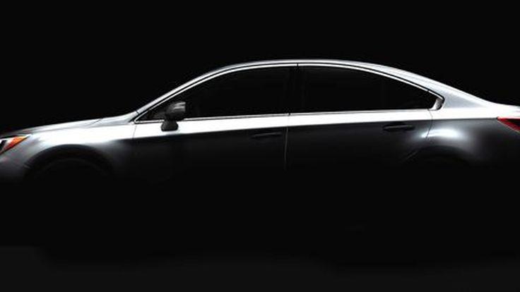 มาแล้วภาพแรก All-New 2015 Subaru Legacy เกาะติดเปิดตัวสัปดาห์หน้า
