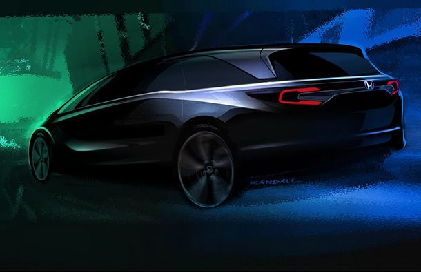 All-New 2018 Honda Odyssey เตรียมเปิดตัวต้นเดือนมกราคม